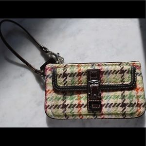 Houndstooth Coach Purse